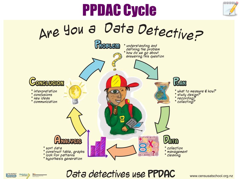 PPDAC Cycle This standard is concerned with all parts of the cycle