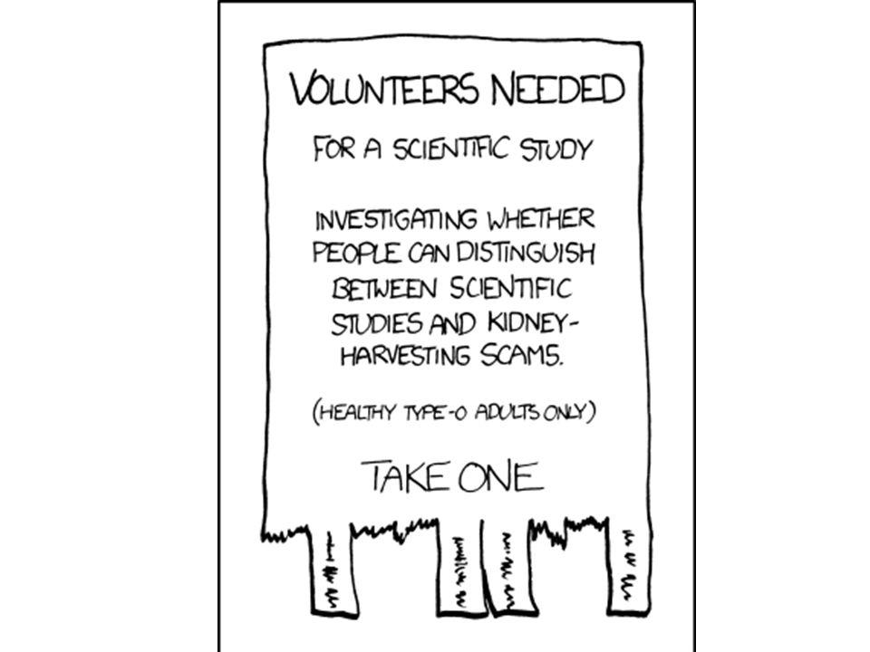 Scientific study: http://xkcd.com/749/