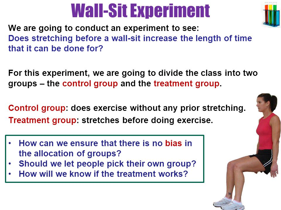 Wall-Sit Experiment