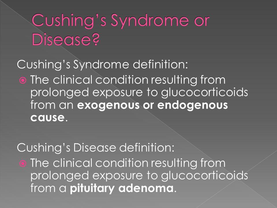 Cushing's Syndrome or Disease