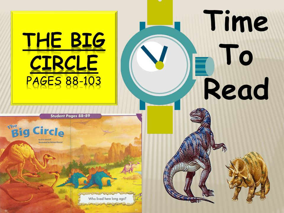 Time To Read The Big Circle Pages 88-103