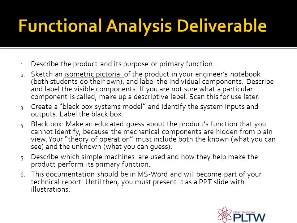 Functional Analysis Deliverable