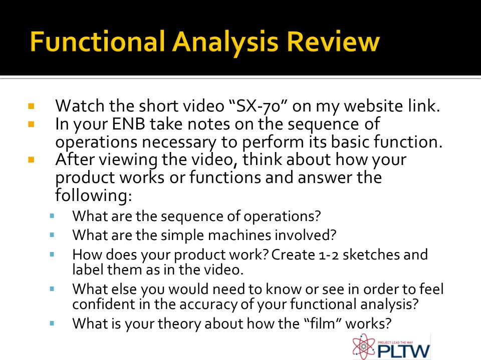 Functional Analysis Review