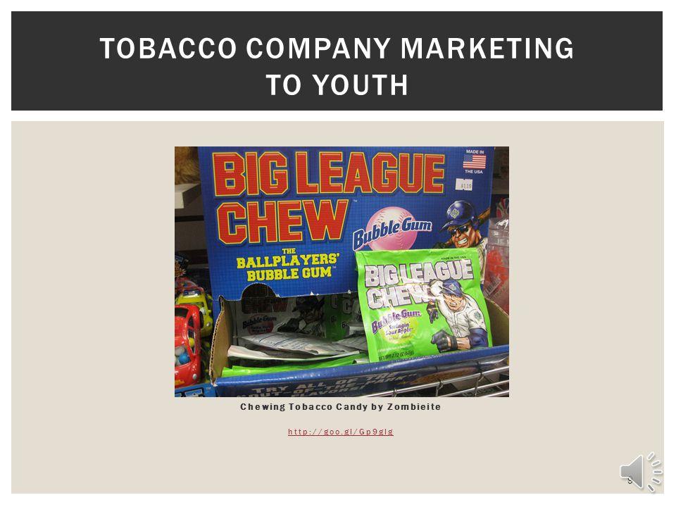 Tobacco Company Marketing to youth