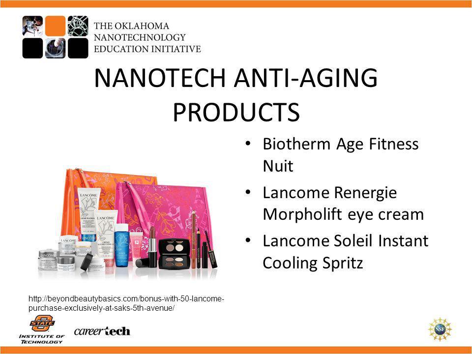 NANOTECH ANTI-AGING PRODUCTS