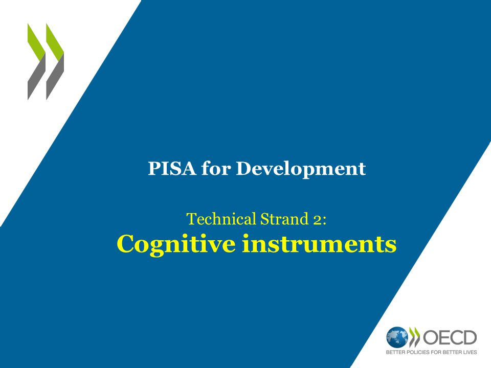 Cognitive instruments