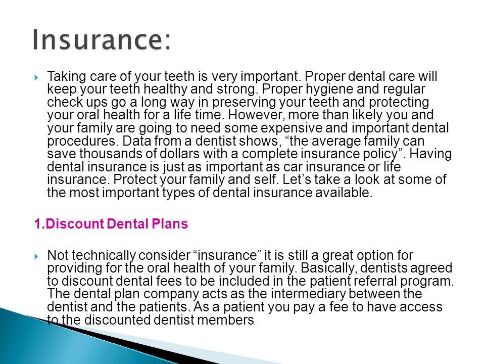 Insurance: