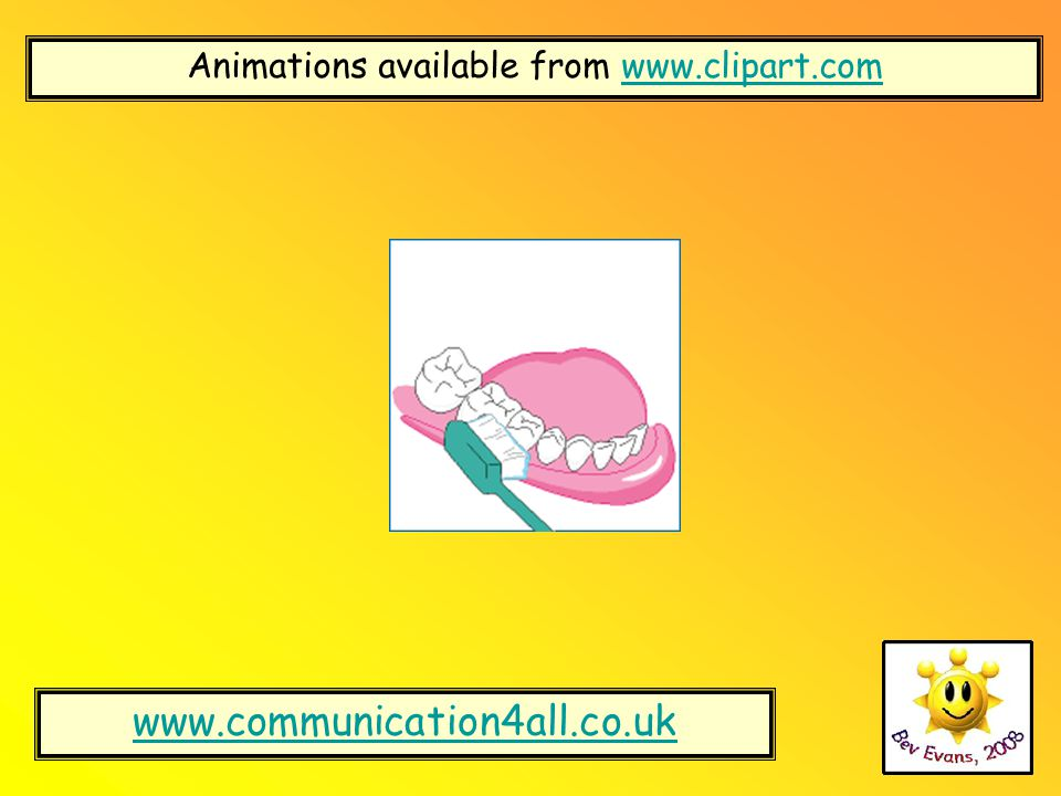 Animations available from www.clipart.com