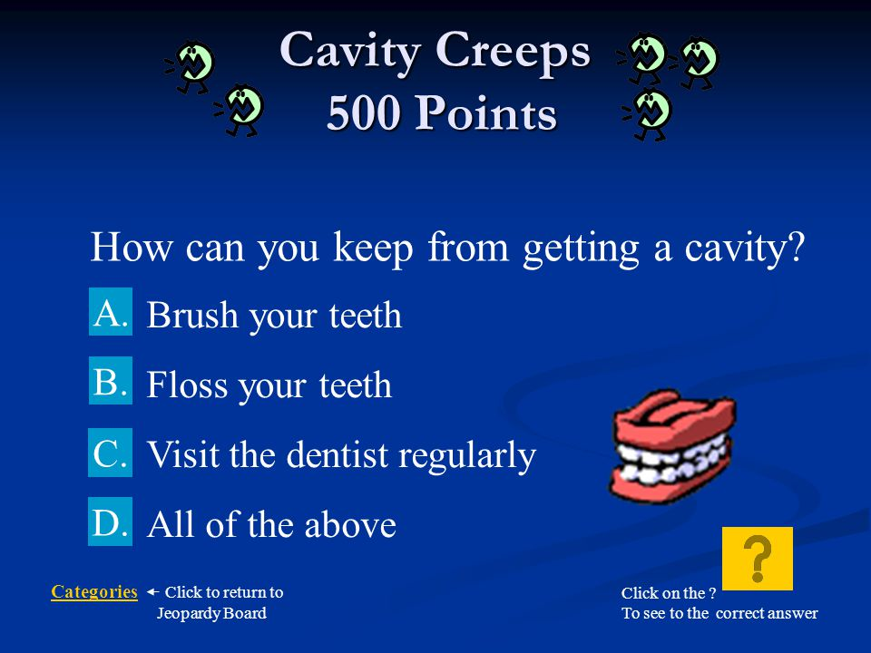 How can you keep from getting a cavity