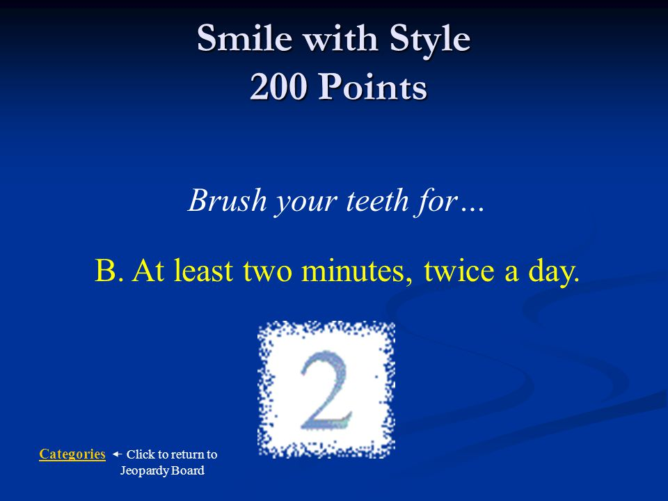 Smile with Style 200 Points