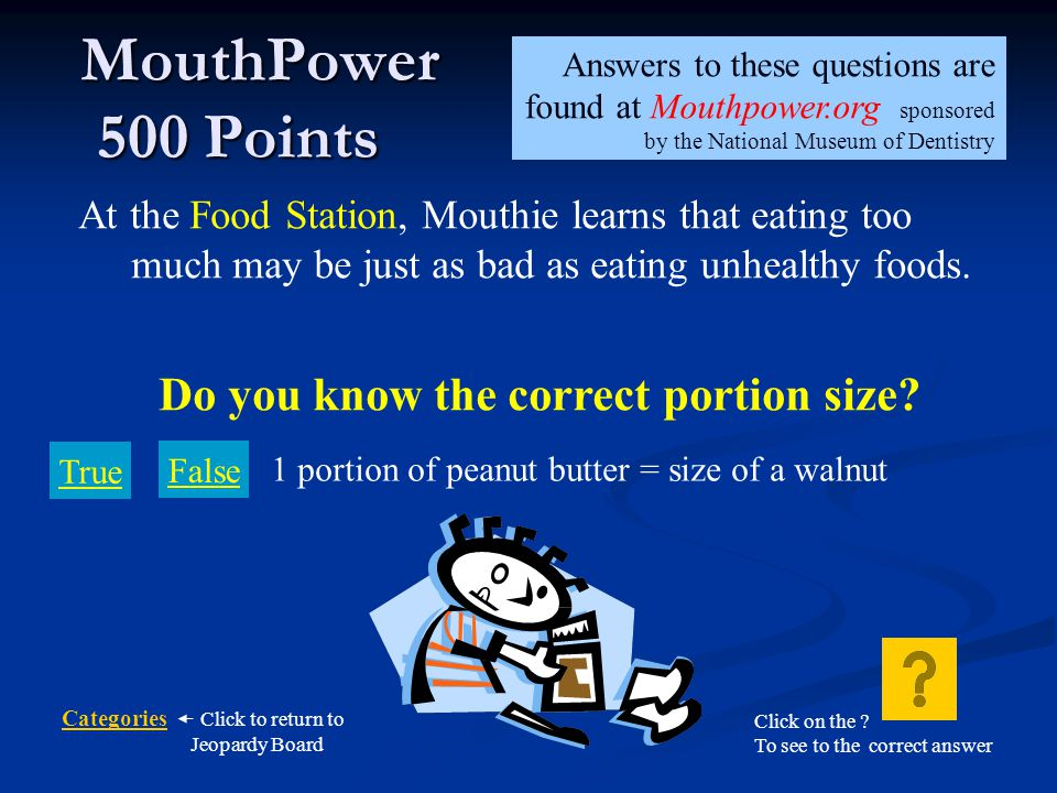 Do you know the correct portion size