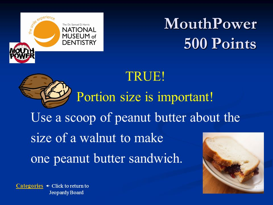 Portion size is important!