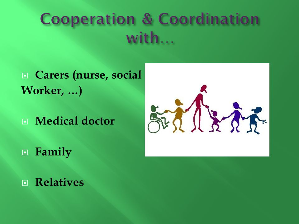 Cooperation & Coordination with…