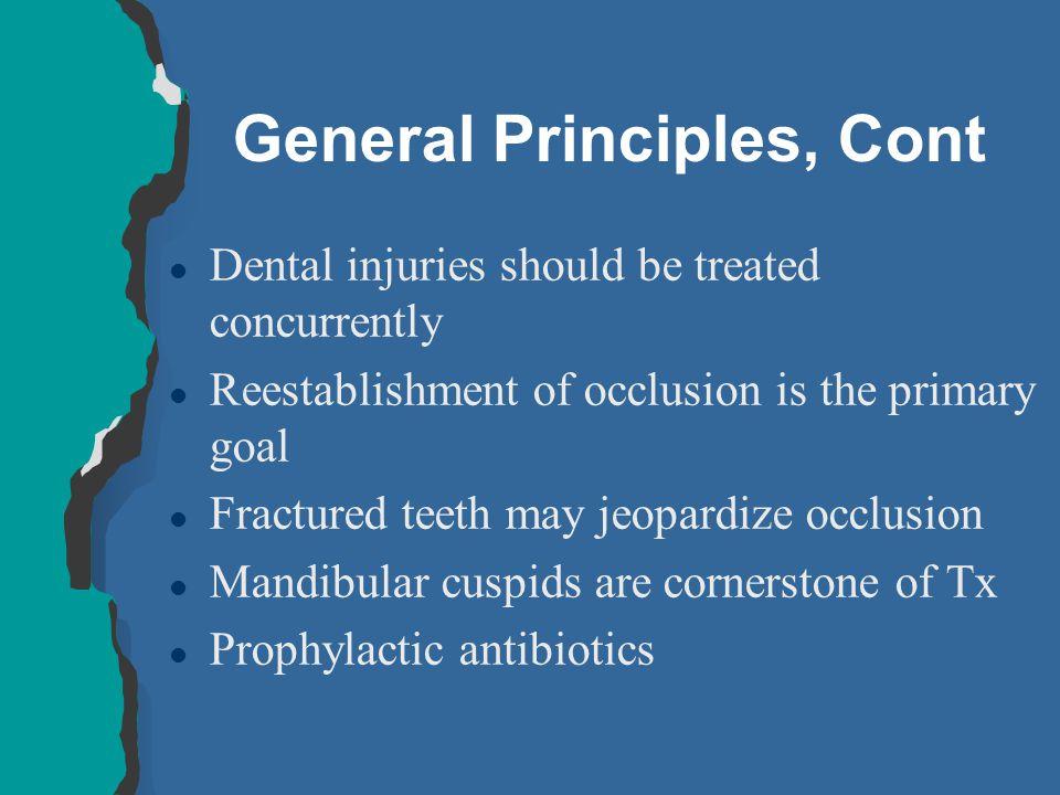 General Principles, Cont