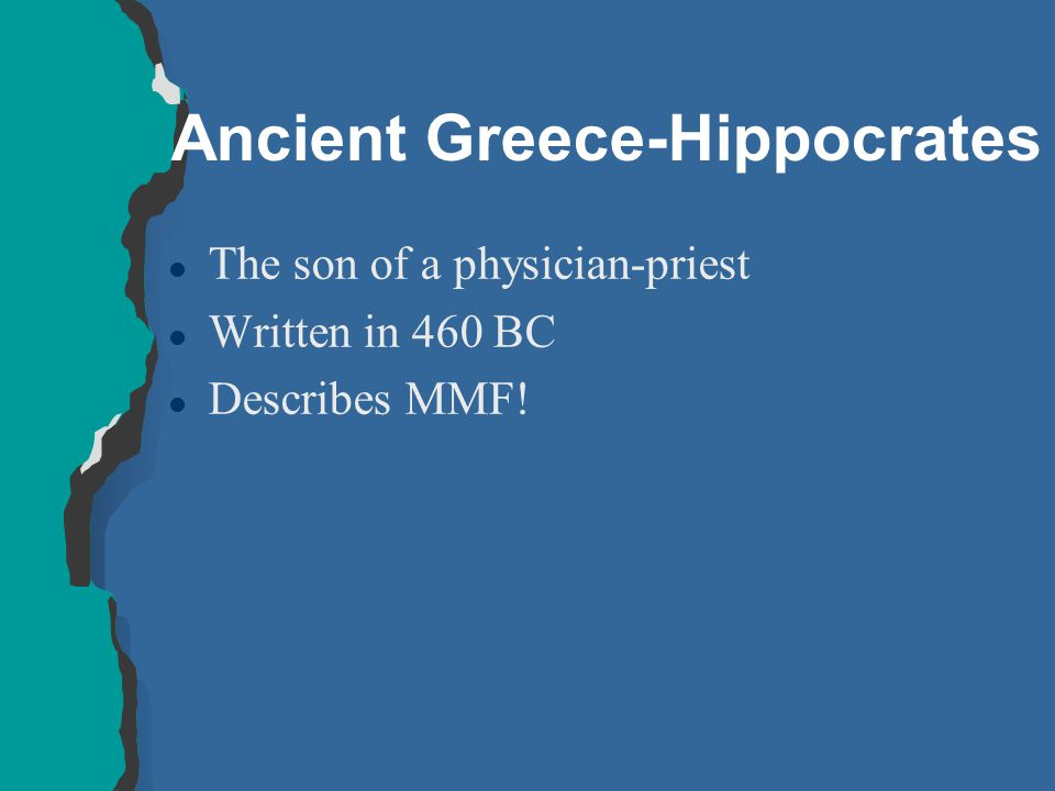 Ancient Greece-Hippocrates