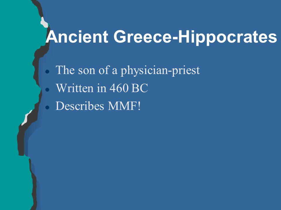 Ancient Greece-Hippocrates