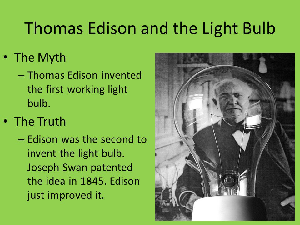 Thomas Edison and the Light Bulb