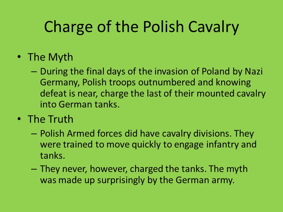 Charge of the Polish Cavalry