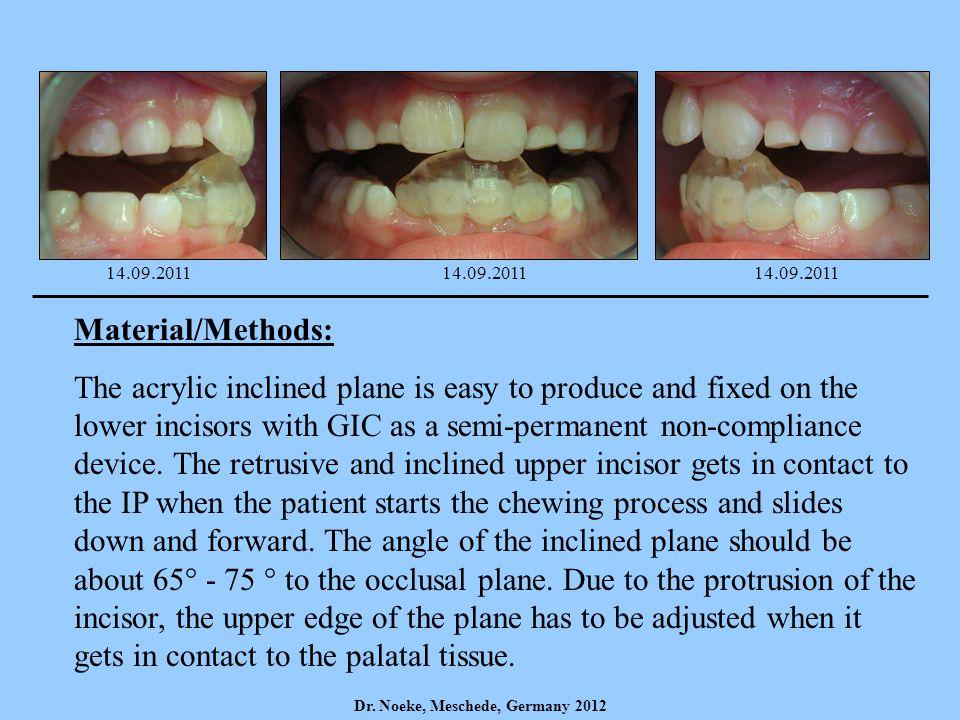14.09.2011 14.09.2011. 14.09.2011. Material/Methods: