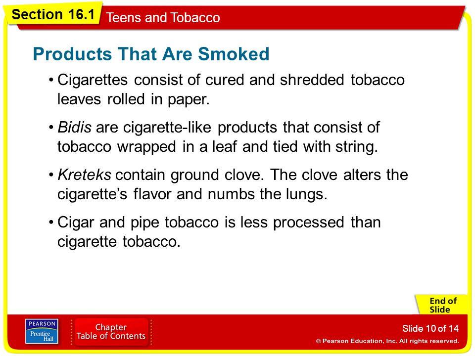 Products That Are Smoked