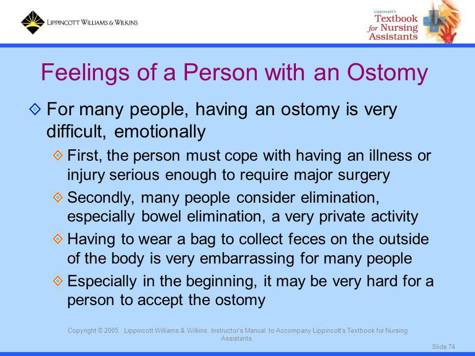 Feelings of a Person with an Ostomy