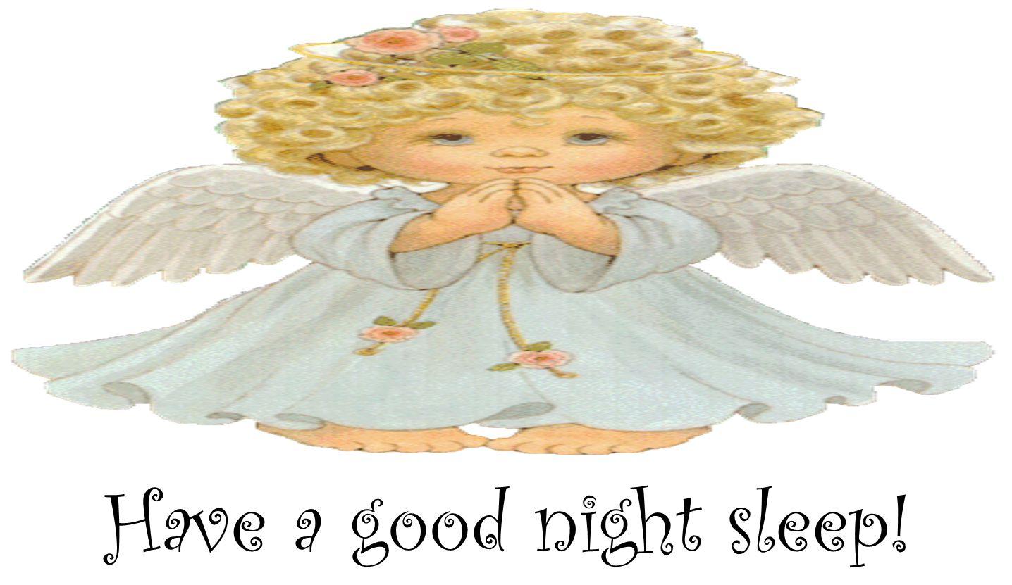 Have a good night sleep!