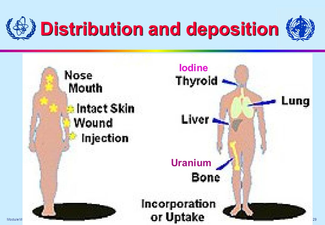 Distribution and deposition