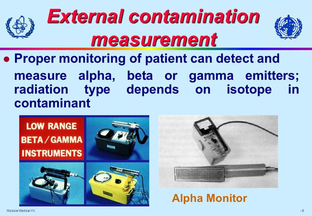 External contamination measurement