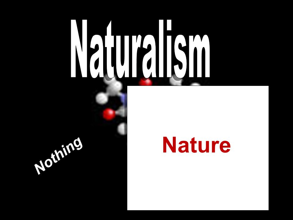 Naturalism Nature Nothing