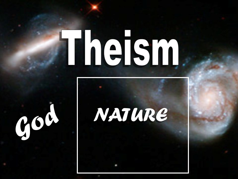 Theism NATURE God