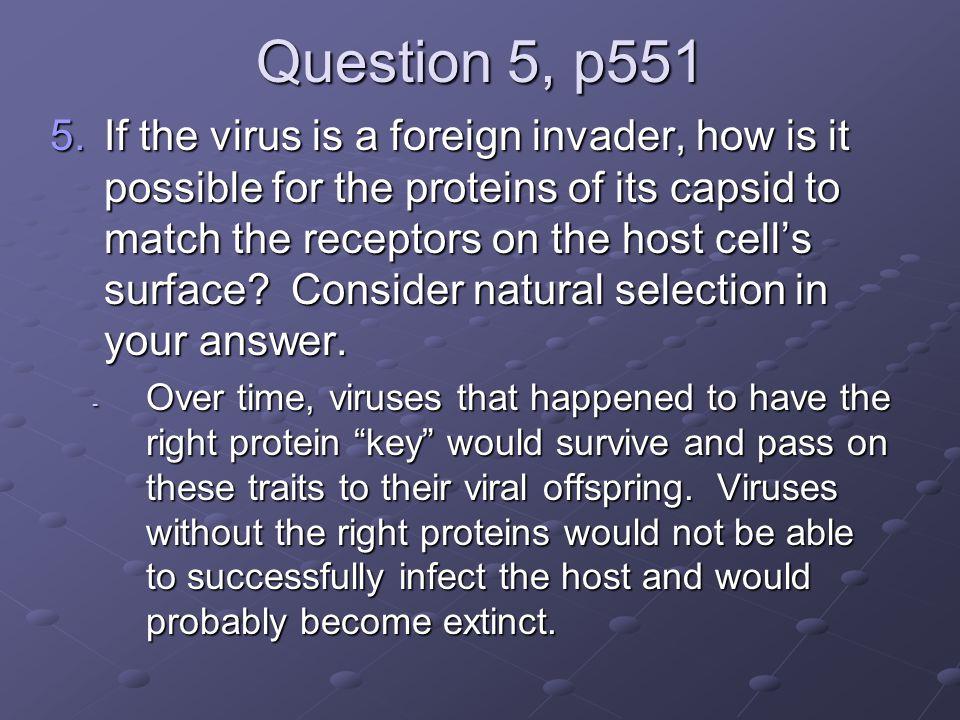 Question 5, p551