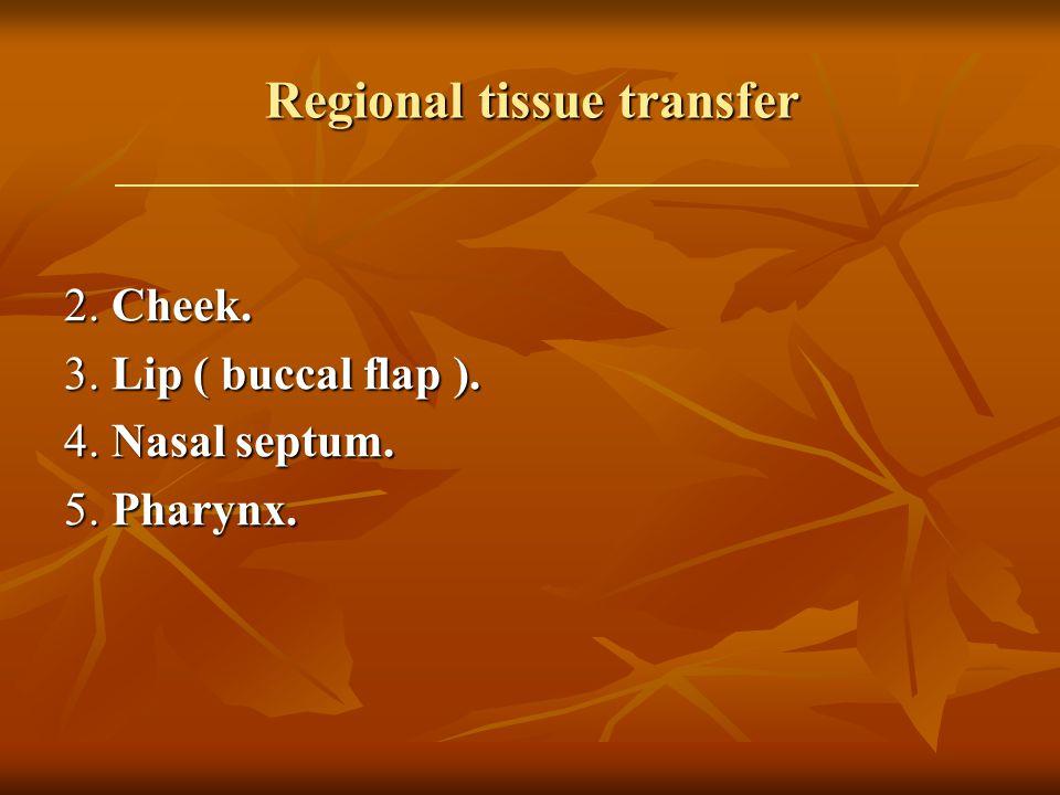Regional tissue transfer