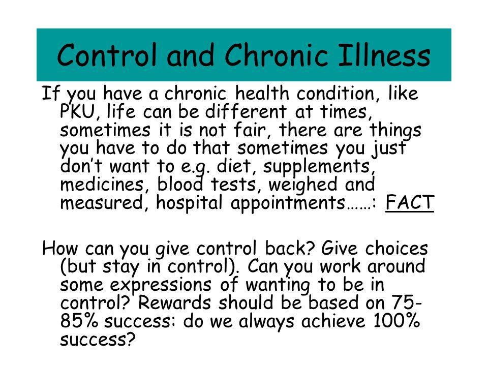 Control and Chronic Illness