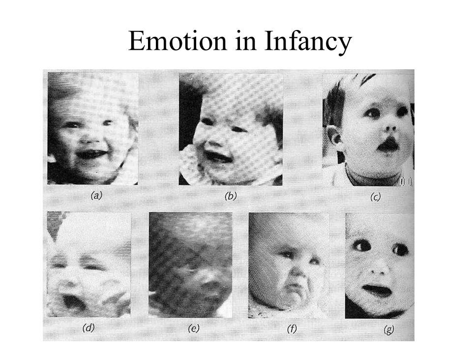 Emotion in Infancy