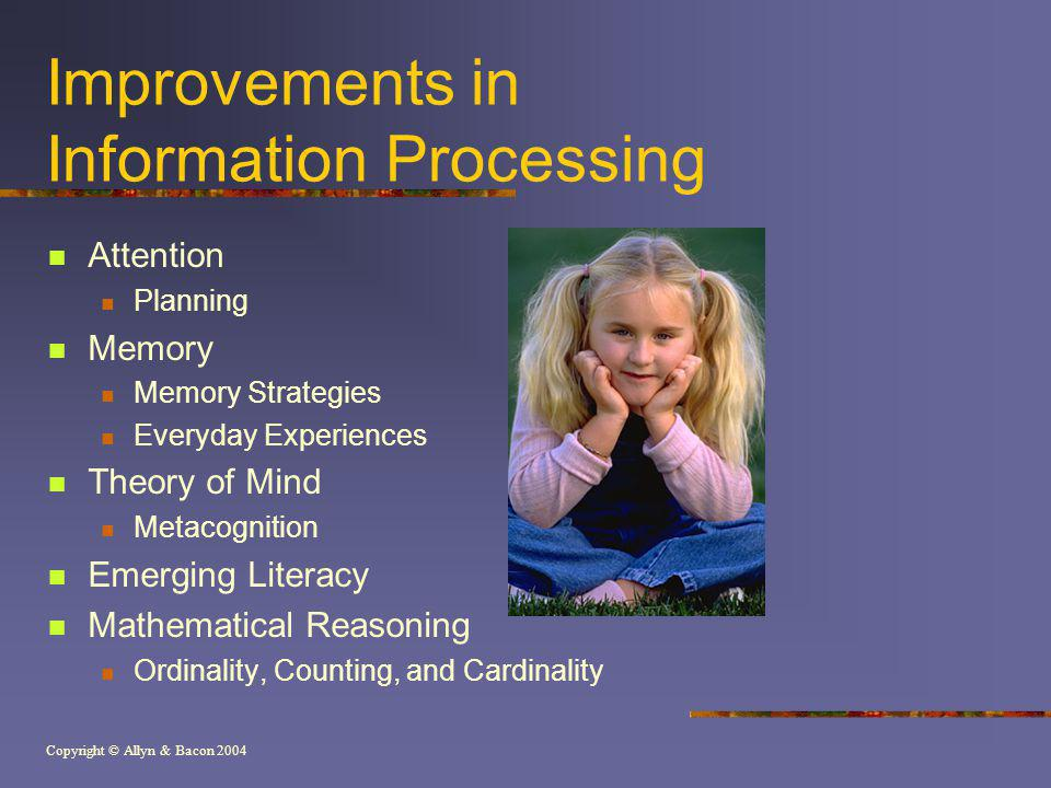 Improvements in Information Processing