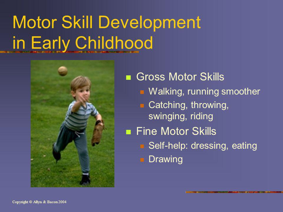 Motor Skill Development in Early Childhood