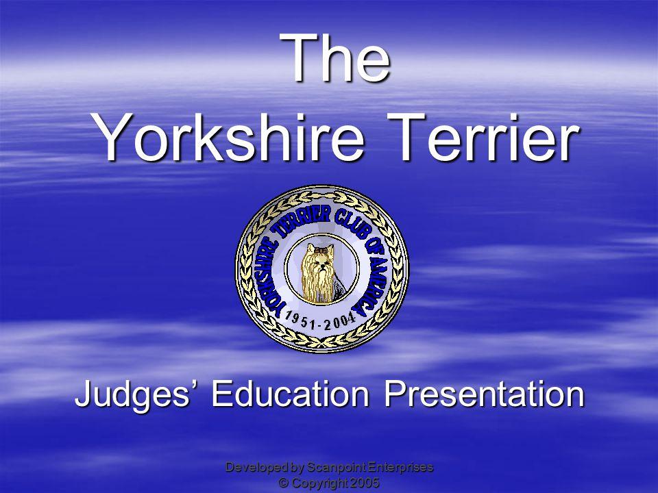 Judges' Education Presentation