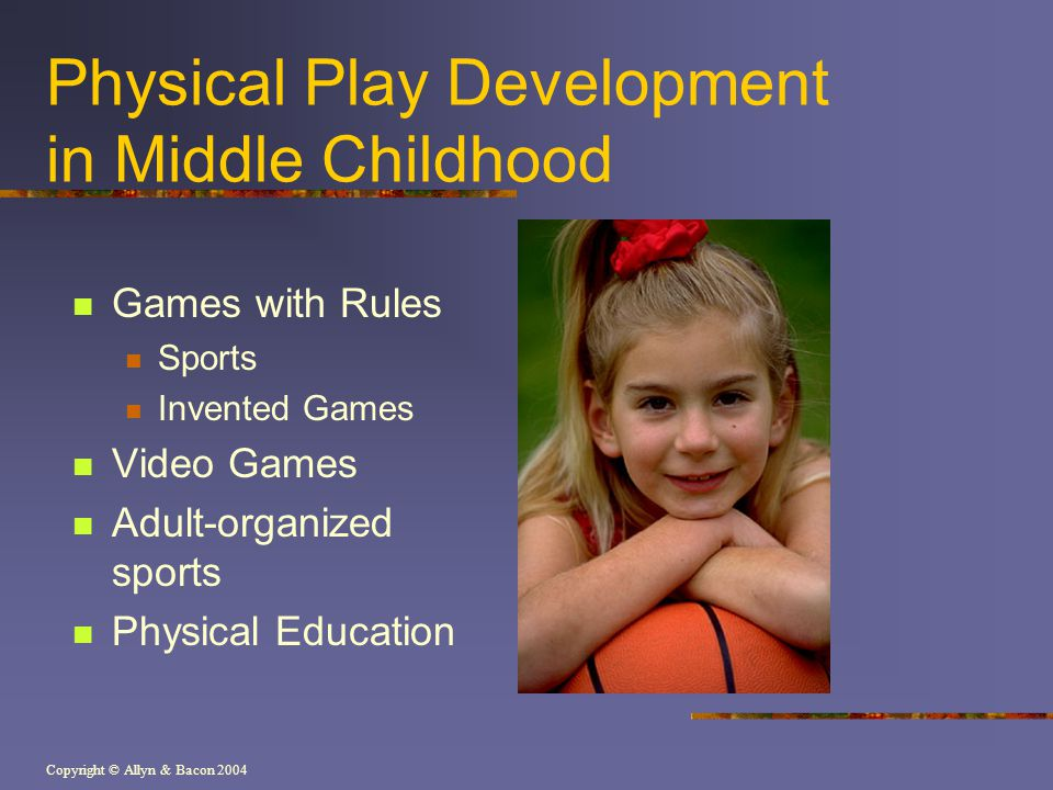 Physical Play Development in Middle Childhood