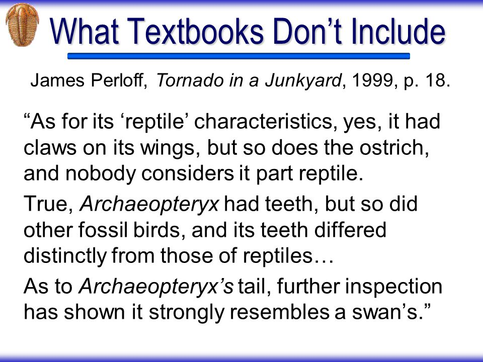 What Textbooks Don't Include
