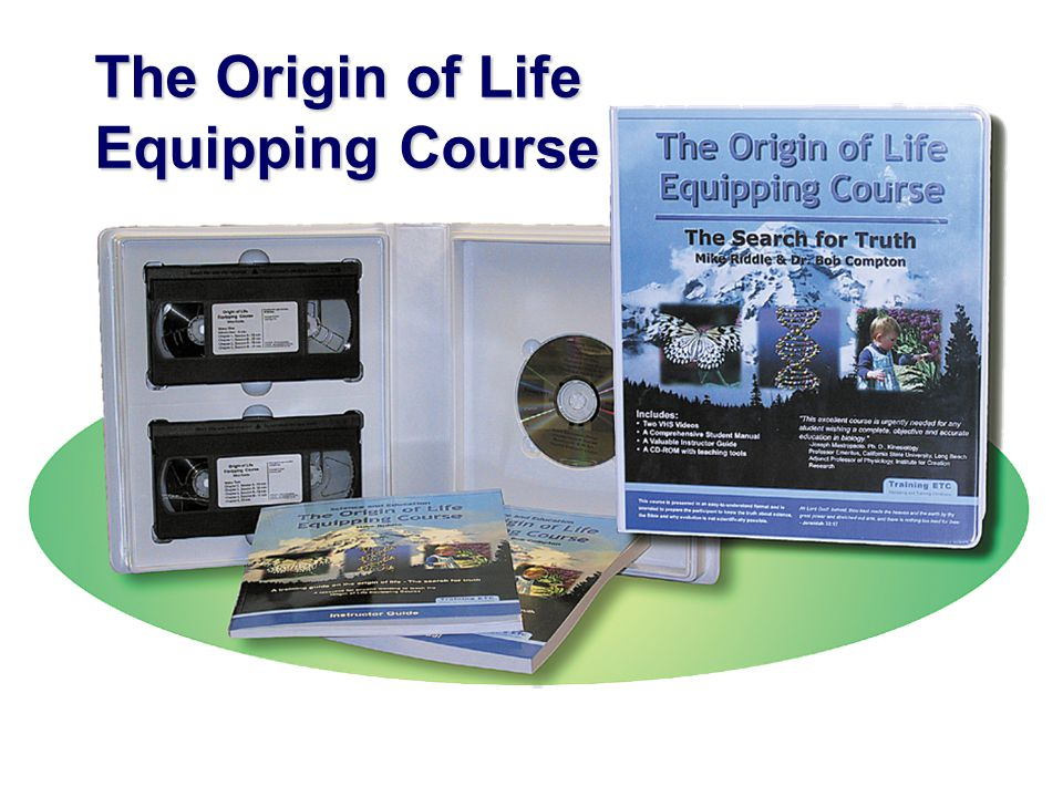 The Origin of Life Equipping Course