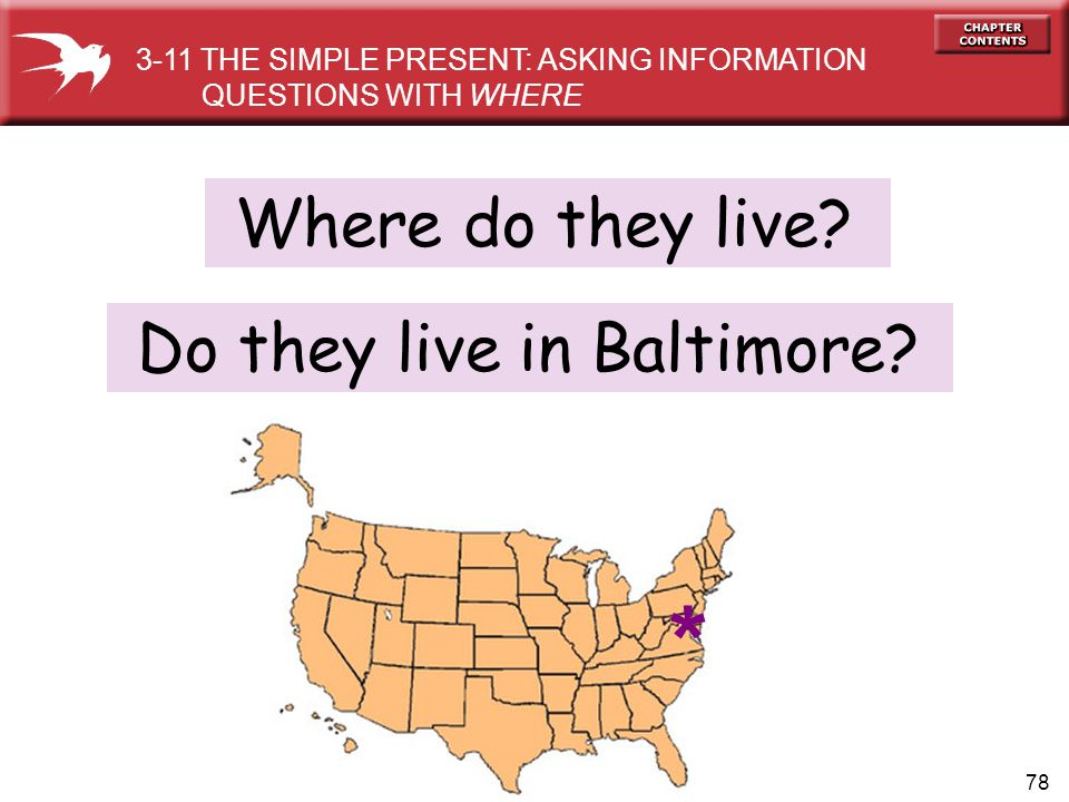 * Where do they live Do they live in Baltimore