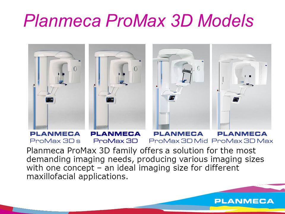 Planmeca ProMax 3D Models