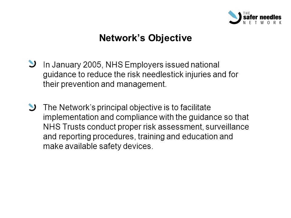 Network's Objective