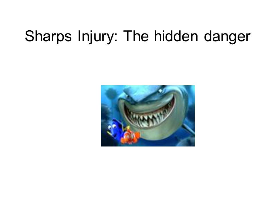Sharps Injury: The hidden danger