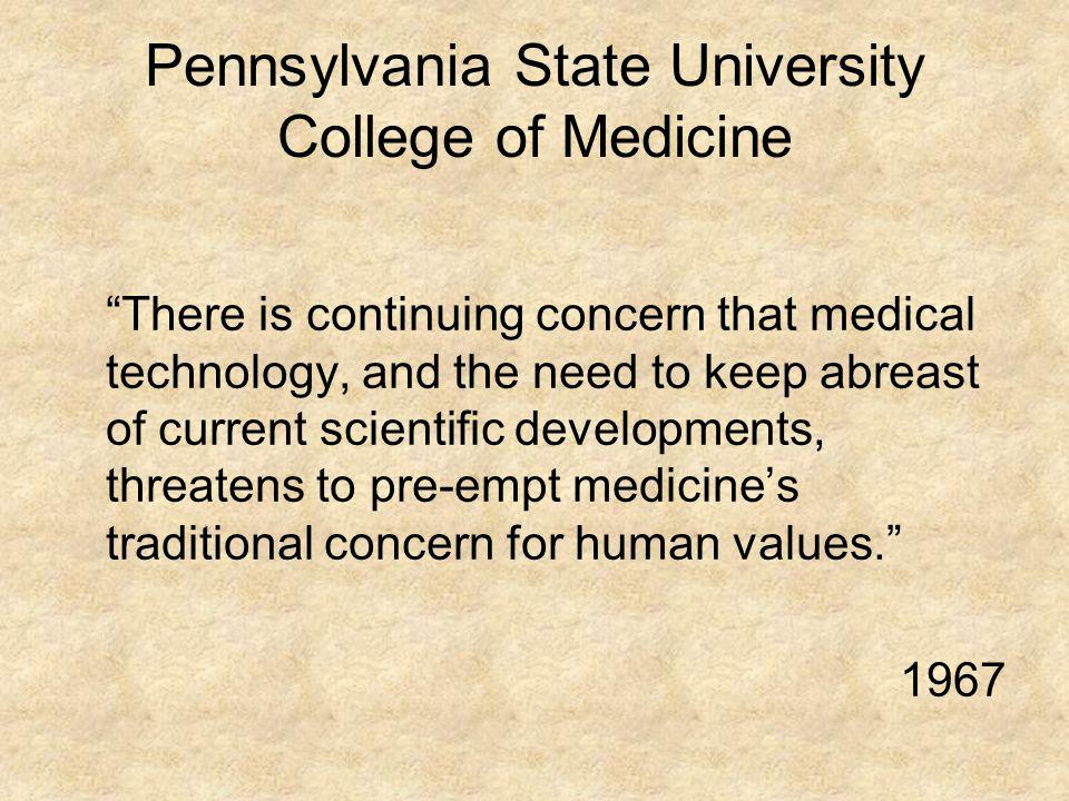 Pennsylvania State University College of Medicine