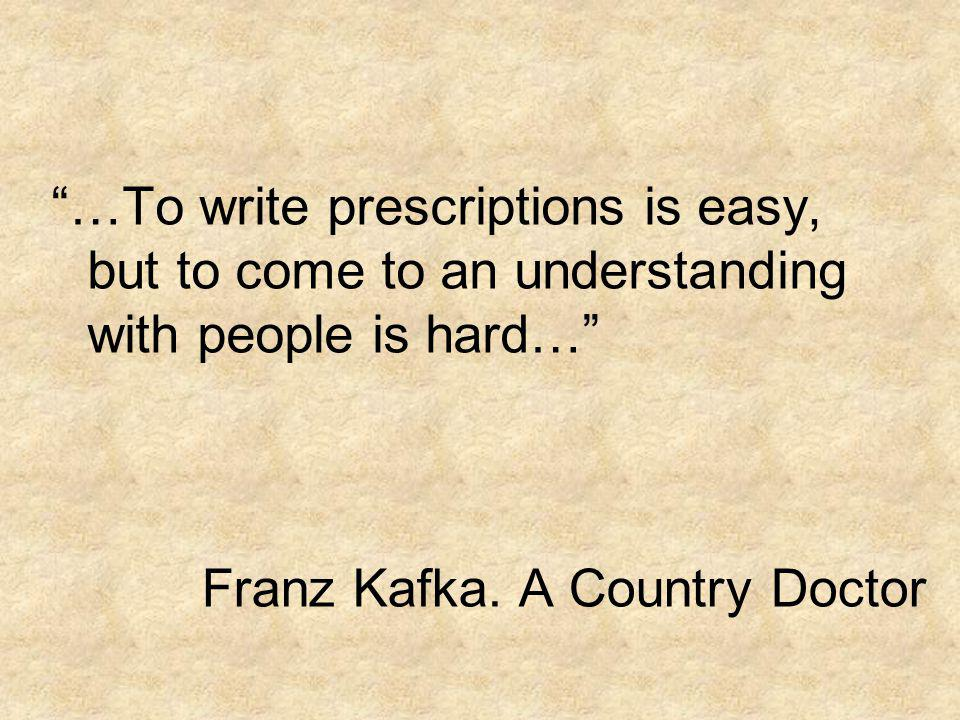 Franz Kafka. A Country Doctor
