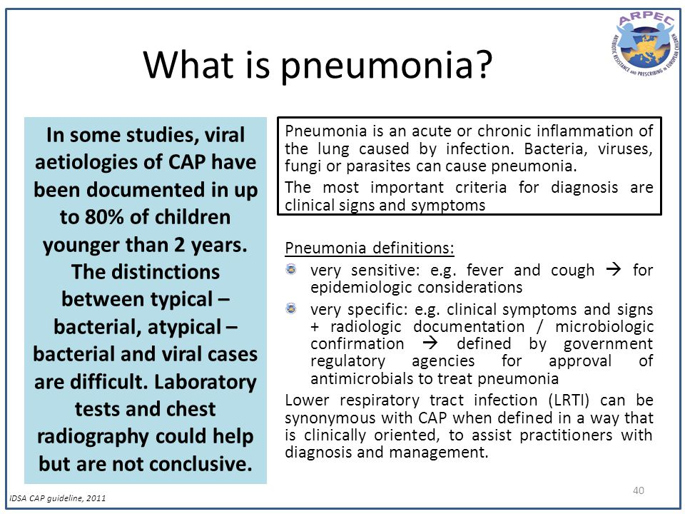 What is pneumonia