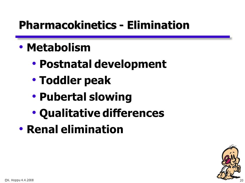 Effects of Fetal Drug Metabolism
