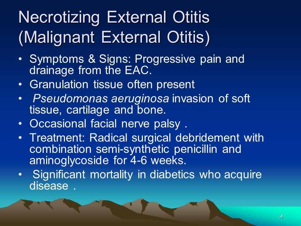 Necrotizing External Otitis (Malignant External Otitis)