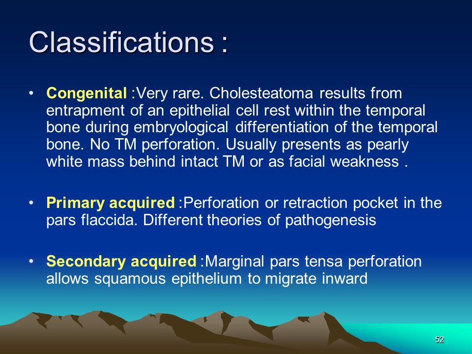 Classifications: